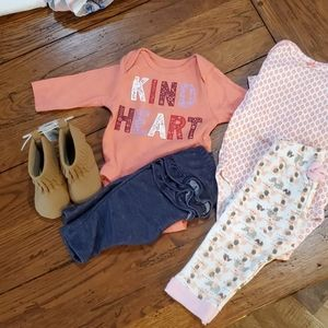2 baby girl outfits bundle and save